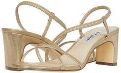 Gizel (Taupe Reflective Suedette) Women's Shoes