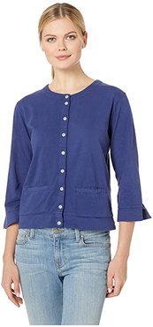 Monterey Cardigan (Moonlight Blue) Women's Clothing