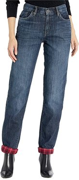 Flannel Lined Jeans (Heritage Wash) Women's Jeans