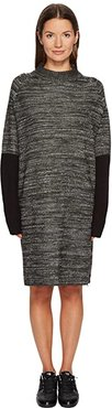 Knit Dress (Black) Women's Dress