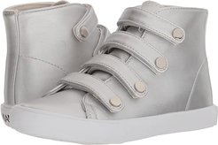 15-A5512 (Toddler/Little Kid/Big Kid/Adult) (Silver Casual PU) Girl's Shoes