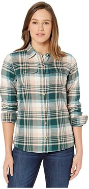 BugsAway(r) Redding Midweight Flannel Long Sleeve Shirt (Ballet) Women's Clothing