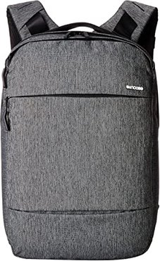 City Collection Compact Backpack (Heather Black/Gunmetal Gray) Backpack Bags