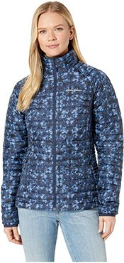 Microtherm(r) 2.0 Stormdown Jacket (Dusted Indigo) Women's Coat