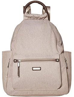 New Classic Heritage All Day Backpack with RFID Phone Wristlet (Sand Heritage) Backpack Bags