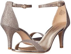 Madia (Gold Fabric) High Heels