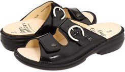 Mumbai - 82556 (Black Crinkle Patent) Women's Sandals