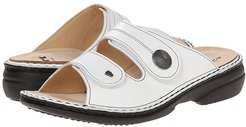 Sansibar - 82550 (White Nappa) Women's  Shoes