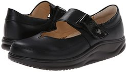 Nagasaki (Black Nappa/Patent) Women's Shoes
