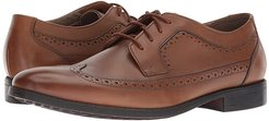 Garian Wing (Dark Tan Leather) Men's Shoes
