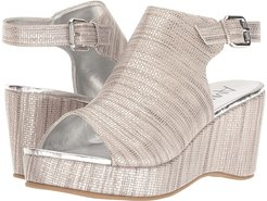 15-A5441 (Little Kid/Big Kid/Adult) (Silver Burlap PU) Girl's Shoes