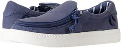 Classic Low (Toddler/Little Kid/Big Kid) (Navy) Kids Shoes