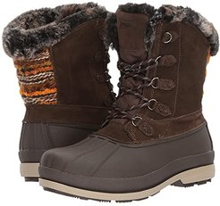 Lumi Tall Lace (Brown) Women's Boots