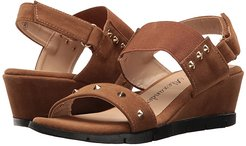 Pennye (Taupe Suede) Women's Shoes