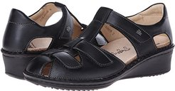 Funen (Black Nappa Leather) Women's Shoes