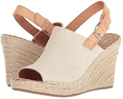 Monica (Natural Hemp/Leather) Women's Wedge Shoes