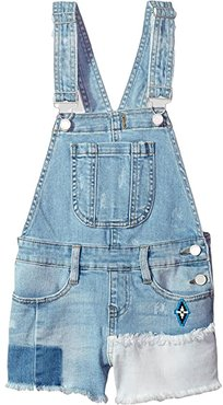 Denim Overalls in Down The Shore (Big Kids) (Down The Shore) Girl's Overalls One Piece