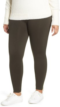 Plus Size Women's Spanx Look At Me Now Seamless Side Zip Leggings