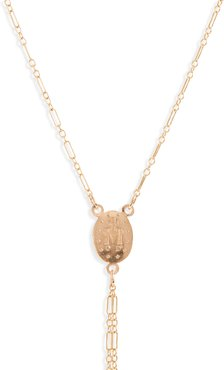 Miraculous Mary Lariat Necklace