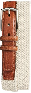 Woven Cotton Belt Beige