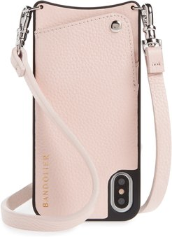 Emma Iphone X/xs Crossbody Case - Pink
