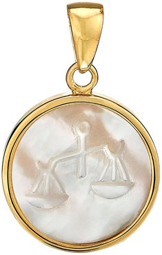 Zodiac Mother-Of-Pearl Charm