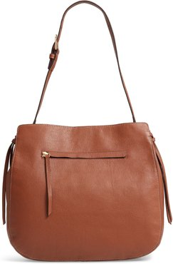 Finley Leather Hobo - Brown