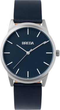 Bresson Leather Strap Watch, 39Mm