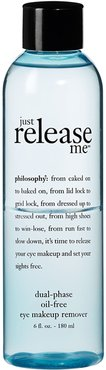 'Just Release Me' Dual-Phase Oil-Free Eye Makeup Remover Color