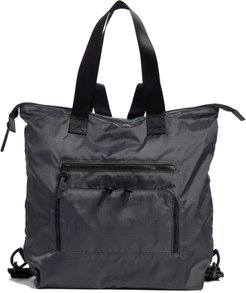 Packable Convertible Backpack - Grey
