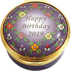 Happy Birthday 2019 Enamel Box