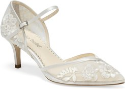 Candice Embroidered Pump