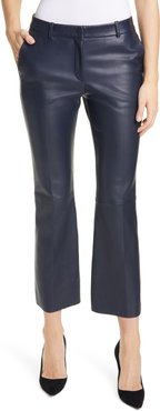Sitrompete Leather Flare Pants