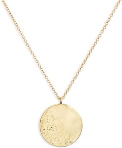Shaye Hammered Coin Necklace