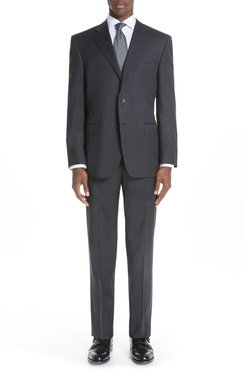 Classic Fit Wool Suit