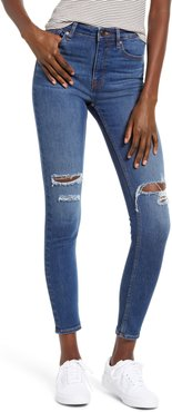 Ace Ripped High Waist Skinny Jeans