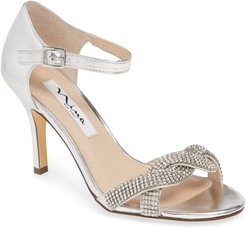 Valency Crystal Embellished Sandal