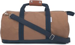 Work Hard Play Hard Duffle Bag - Brown