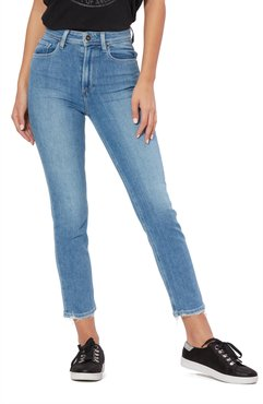 Vintage - Sarah High Waist Slim Straight Leg Crop Jeans