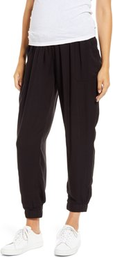 Over The Belly Maternity Jogger Pants