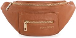 Infant Fawn Design The Fawny Faux Leather Belt Bag - Brown