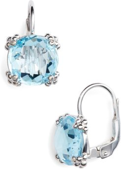 Dew Drop Topaz Drop Earrings