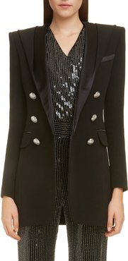 Long Hooded Blazer