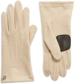 Wool & Cashmere Blend Water Repellent Touchscreen Gloves