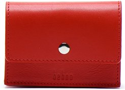 Whitney Leather Wallet - Red