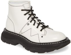 Lace-Up Lug Sole Hiker Boot