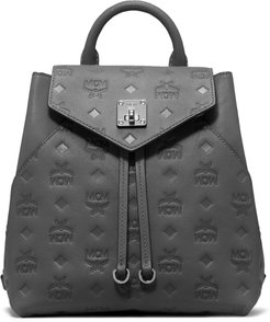 Essential Monogram Leather Small Backpack -