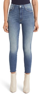 The Looker Frayed Ankle Jeans