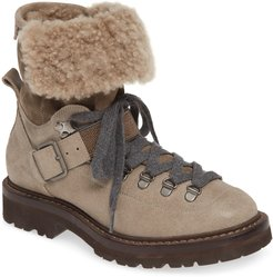 Genuine Shearling Lined Hiking Boot