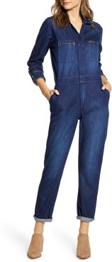Union-All Denim Jumpsuit